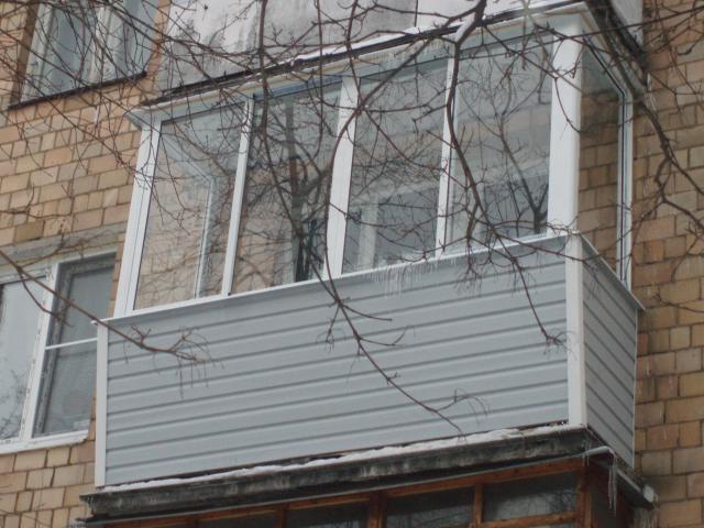Остекление балконов и лоджий в москве, цена на остекление ба.
