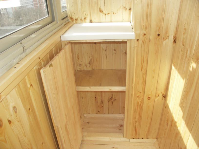 Внутренняя отделка, обшивка балконов и лоджий недорого, плас.