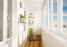 Остекление балконов ПВХ окнами