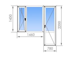 Цена на пластиковые окна в п-42.